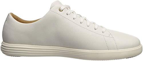 Cole Haan Men's Grand Crosscourt II Sneaker, white leather, 12 Medium US