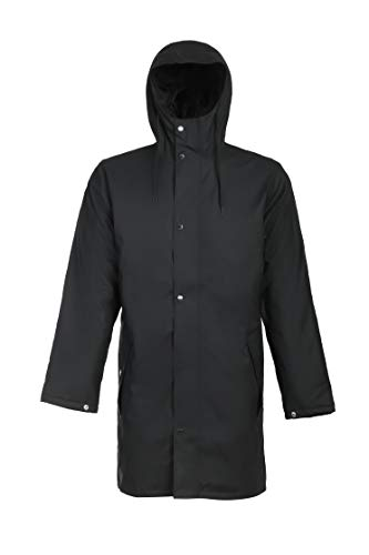 Tretorn Wings Monochrome Padded Jacket Schwarz, Isolationsjacke, Größe M - Farbe Jet Black