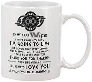 Ik weet niet hoe lang ik ga leven vrouw cadeau koffie mok