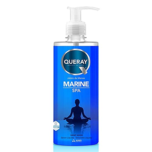 Queray Jabón Manos Líquido Marine Spa - 500 ml.
