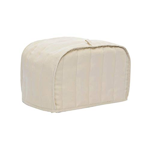 Toaster Cover Messar Cotton Striped Bread Toaster Dust Cover Bakeware Protector for Two Slice Toaster Appliance Dust Style Random 11W x 8D x 8H