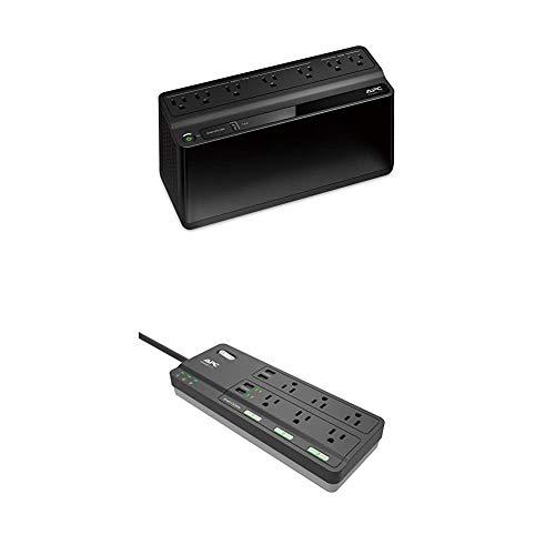 APC Bundle - 600VA UPS Battery Backup, and Works with Alexa Smart Plug...