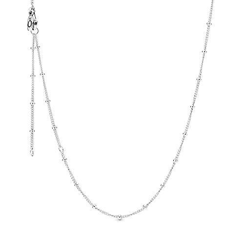 Pandora Collar cadena Mujer plata - 397210-70