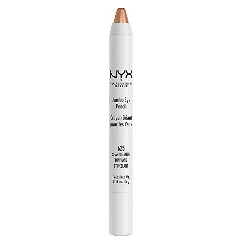 NYX PROFESSIONAL MAKEUP Jumbo Eyeliner Pencil, Sparkle Nude