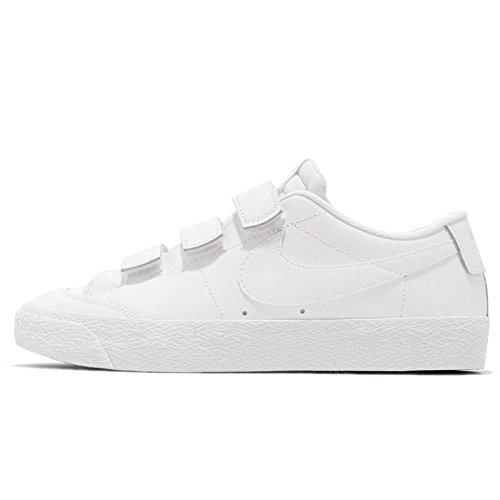 Nike SB Zoom Blazer AC Xt, Scarpe da Ginnastica Basse Uomo, Bianco (White/White/Black 001), 44.5 EU