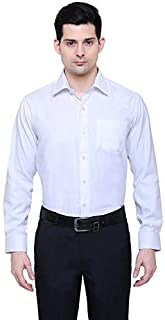 PROLIAN Men's Cotton Casual Shirt for Men Full Sleeves