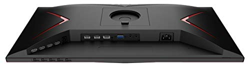 AOC Gaming 27G2U/BK 80 cm (27 Zoll) Monitor (FHD, HDMI, DisplayPort, Free-Sync, 1ms Reaktionszeit, 144 Hz, 1920x1080) schwarz/rot