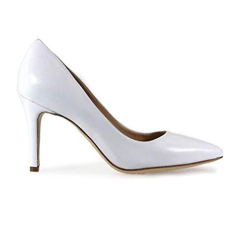 L'Arianna Luxury Fashion Damen DF1032BIANCO Weiss Pumps | Herbst Winter 19