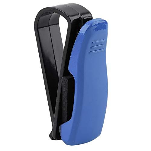 Soporte automático para gafas de coche, coche, visera, gafas de sol, para negocios, tarjeta bancaria, soporte para billetes, clip