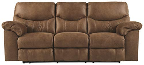 Signature Design by Ashley Boxberg Reclining Sofa Bark