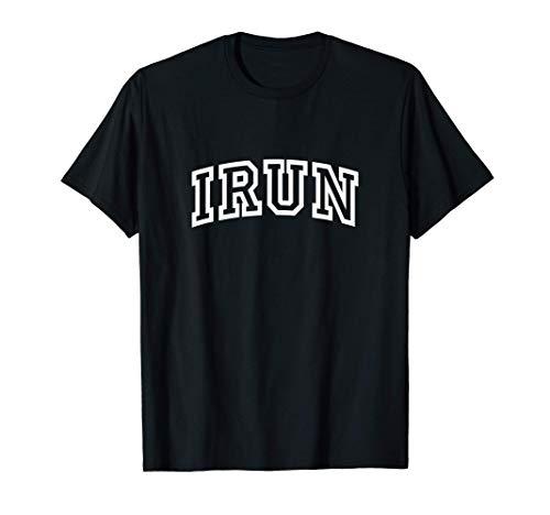 Irun Vintage Retro Sports Arch Camiseta
