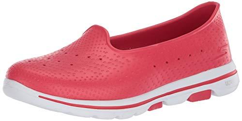 Skechers GO WALK 5 SUN KISSED, Sandale de sport Femme, Red, 39 EU