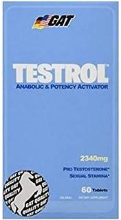 GAT Testrol Potency Activator - 60 Tablets, 30 servings