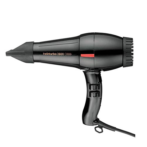 Parlux Fingers Softstyler- Difusor para secador de pelo, solo para Parlux model, Negro