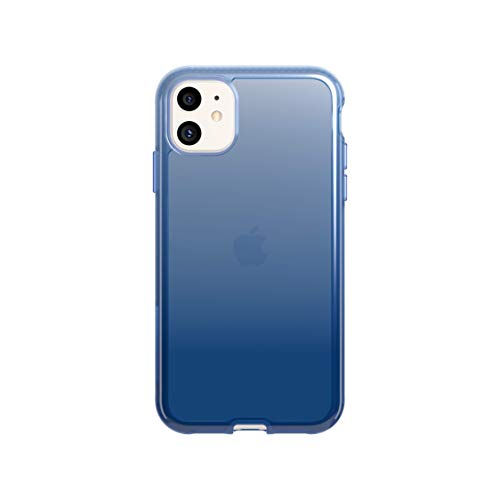 tech21 Pure Ombre for Apple iPhone 11 Phone Case with 10ft Drop Protection, Bolt from The Blue