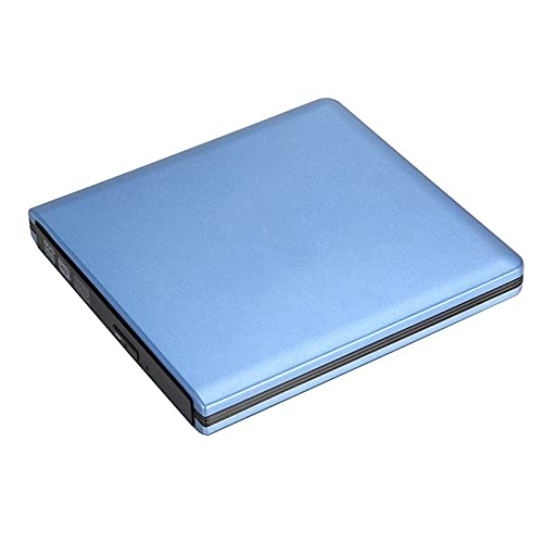 ZHENGZEQU DVD USB 3.0 External DVD 8X DVD-ROM 24X Combo Lector de CD-R Quemador Delgado Unidad óptica