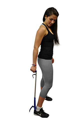32' Shoehorn Long Handle Shoe Gripper and Reacher by Mars Wellness
