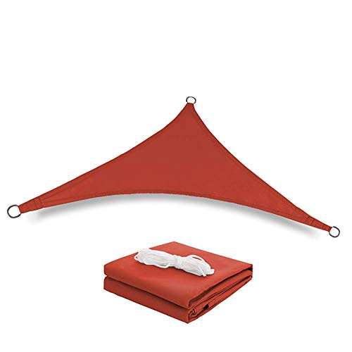 WYW Sun Shade Sail,4 * 4 * 4m Triangle,UV Block Waterproof Sun Shade Sail Awning,Garden Beach Patio Canopy,Waterproof Sun Shade UV Block Sunscreen Awning,for Outdoor Patio Garden,2,4 * 4 * 4m