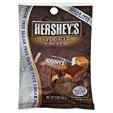 Hershey's Sugar Free Chocolate with Caramel Candy, 3-Ounce Bag (Pack of 6)