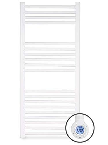 Toallero Eléctrico Fluido Programable Blanco Pantalla LCD (700w)