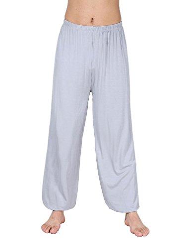 Hoerev Super Soft Modal Spandex Harem Yoga Pilates Trousers
