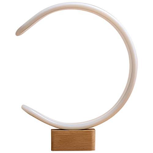 ACAMPTAR Balance MagnéTico LáMpara LED Mesa de Comedor para el Hogar Luz Nocturna Interruptor de Cuentas MagnéTicas LáMpara Horizontal DecoracióN Del Hogar Luz de Noche LáMpara de Pie