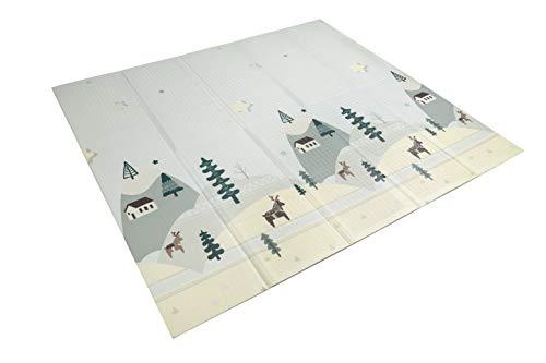 Kinderteppich, faltbar, gepolstert, hochwertig, robust, 180 cm x 200 cm Modell 3