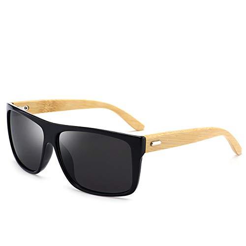 WUJIANCHAO 2020 Europa y Estados Unidos nuevas gafas de sol de moda gafas de sol de tendencia clásica para hombres gafas de bambú