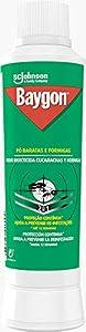 Baygon - Insecticida en polvo contra rastreros, cucarachas y hormigas, grietas y zonas escondidas, efecto barrera, 12 semanas, 250 gr