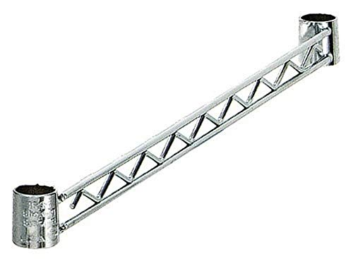 Quantum Hang Rails Super 35% OFF popular specialty store for Wire Shelving Chrome NSF Kit