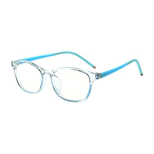 Gafas para Niños Protección Antifatiga y con filtro contra la luz azul y los rayos UV Gafas de Ordenador Lentes Transparentes