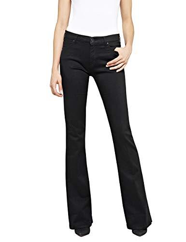 REPLAY Stella Flare Jeans, Black 98, 26W / 32L Donna