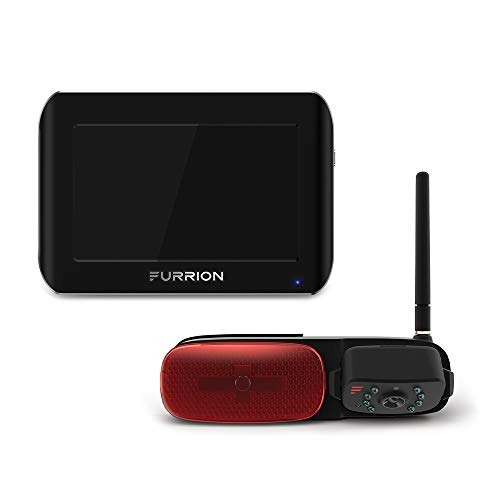 Furrion Vision S 5 inch Wireless RV Backup System with 1 Rear Markerlight Camera, Infrared Night Vision and Wide Viewing Angle - FOS05TASR backup Cameras Vehicle
