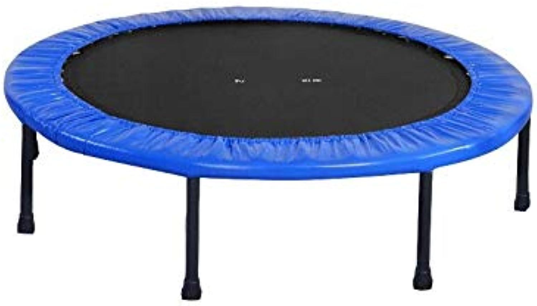 productos creativos Mishuai Trampolín Deportivo Deportivo Deportivo Trampolín Plegable Gimnasio Trampolín Adulto Equipos de Gimnasia Trampolín para Interior Deportes Bounce Bed (Azul  se descuenta