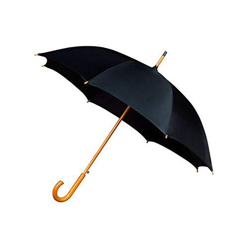 Falconetti Regenschirm, lang, Unisex, für Damen und Herren, Unisex, Erwachsene, Schwarz (Schwarz), 10 x 10 x 89 cm (B x H x L)