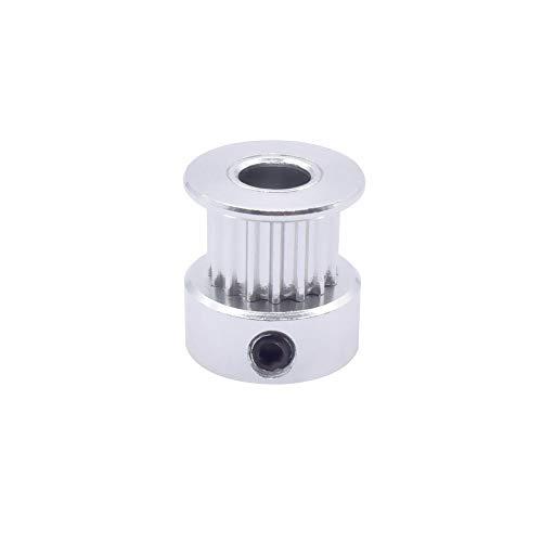 WNJ-TOOL, 1 stuk 3D-printer onderdelen riemschijf 16 teeth 20 teeth GT2 / 2GT Bore 5/6/6,35 / 8 mm grootte voor GT2 riembreedte 6 mm 10 mm accessoires