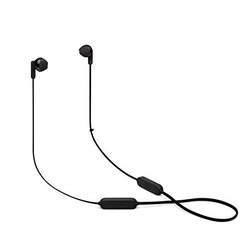 【Amazon.co.jp 限定 】JBL TUNE215BT Bluetoothイヤホン マイクリモコン付き/オープンタイプ/USBタイプC/2020年モデル ブラック JBLT215BTBLK 【国内正規品/メーカー1年保証付き】 小