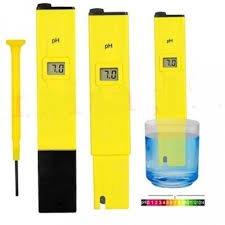 Medidor digital de pH Elifestore de bolsillo, color amarillo