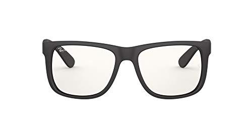 Ray-Ban 0RB4165 Gafas, Rubber Black, 55 para Hombre