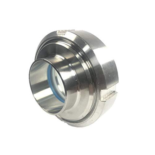 Fuerte y robusto 1-1/4'4' (32-102mm) Mirilla Sanitaria de acero inoxidable SS316 circular de visión Manguera de jardín. (Color : 76MM)