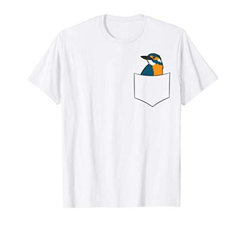 Kingfisher Bird In The Pocket Kingfishers Maglietta
