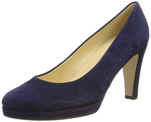Gabor Shoes Damen Fashion Pumps, Blau (Bluette 10), 38 EU