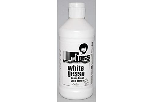 Bob Ross R62GESSO-50 White Gesso 16 fl. oz. (473ml)