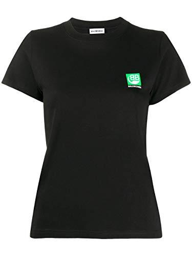Luxury Fashion | Balenciaga Dames 578133THV631000 Zwart Katoen T-shirts | Lente-zomer 20