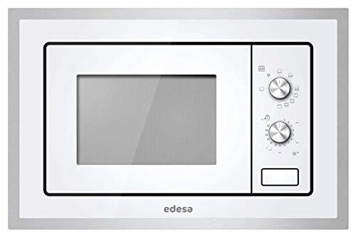 edesa / EMW-2010-IG XWH / weiß Glas / 60 cm / Einbau Mikrowelle / 20 L , 800W / Grill 1000W