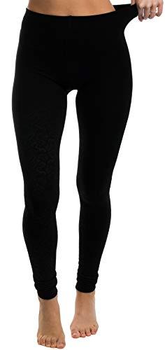 Brandsseller Thermo Leggings Panty voor dames, warm en zacht, met binnenfleece, zwart, in verschillende maten