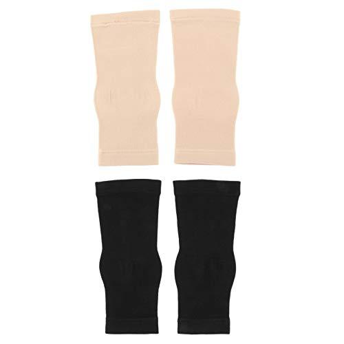 BESPORTBLE 2 Paar Kompression Fuß Ärmel Knöchel Unterstützung Socken Schutz Geschenke für Männer Frauen Outdoor Indoor Sport Laufen Yoga Biking Übungen