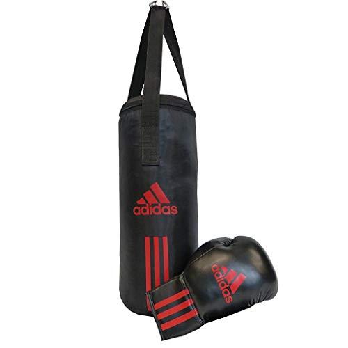 adidas Kinder Box-Set Junior Pack, Schwarz/Rot, 43 x 19 cm, ADIBACJP