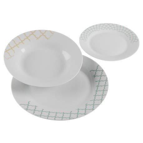 Versa Vaisselle 18 pièces Glosser Céramique