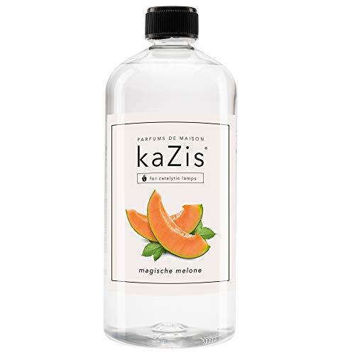 KAZIS® I Magische Melone I Für Alle Katalytischen Lampen I Raumduft I Parfums De Maison I Nachfüll-Öl (Refill) I 1000 ml I 1 Liter I Fruchtig süß I Lampe Berger geeignet